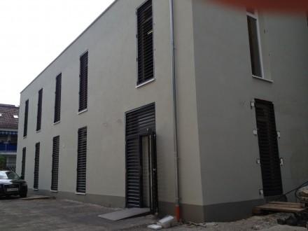 Rohbau eines Lagerhauses